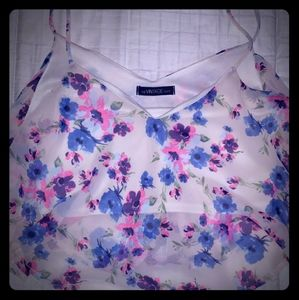 Floral Crop Top ☆Excellent Condition☆!